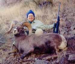 Diane George AZ 1999 Rifle Bighorn Sheep