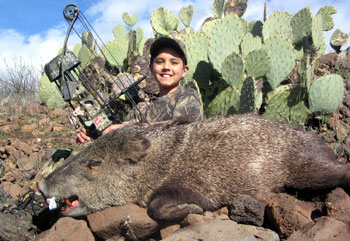 elias sanchez NM Javalina