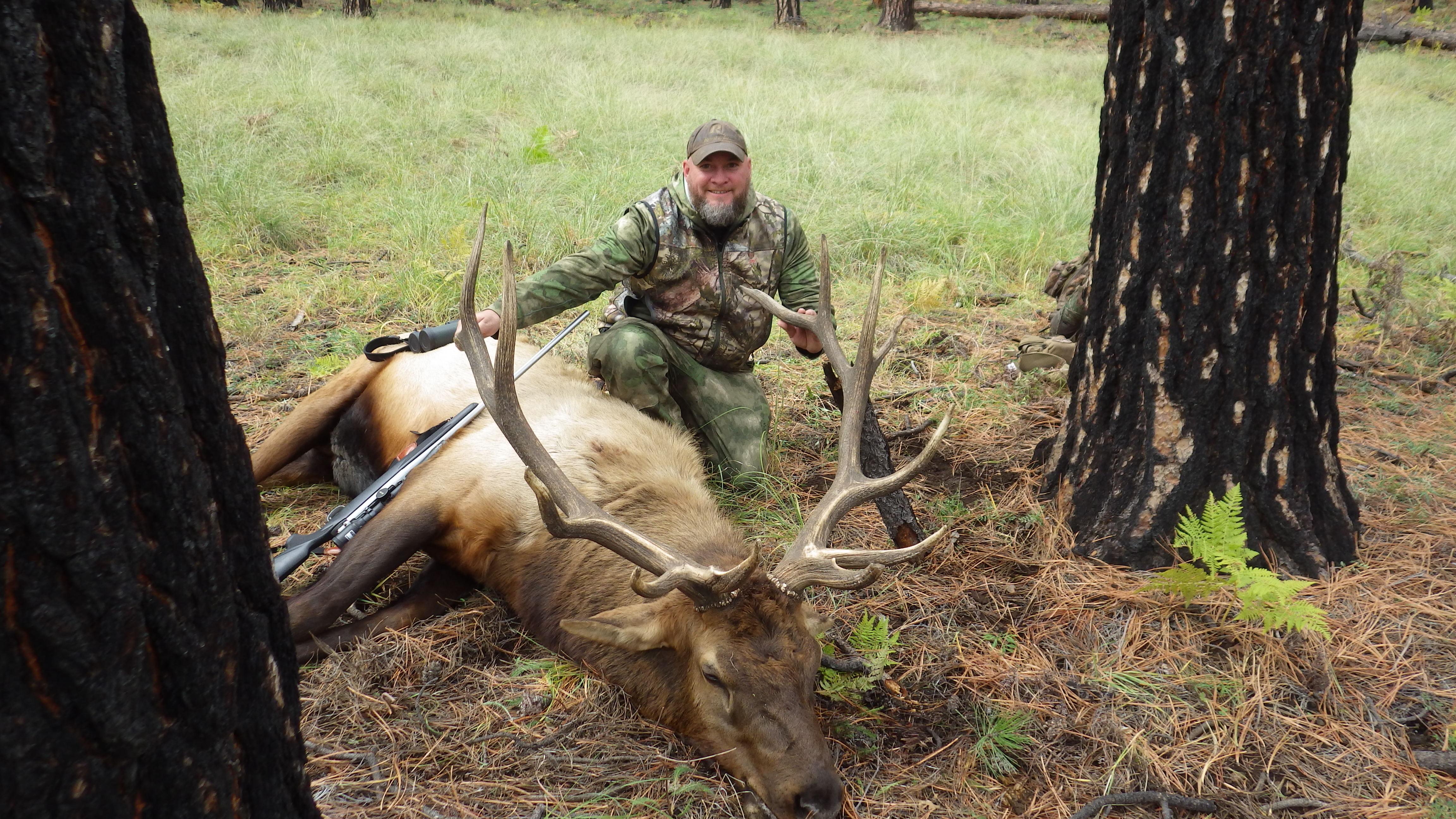 Aaron Mayle, WV - 6x7 Bull Rifle